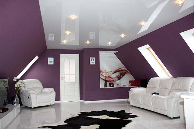 Глянцевый потолок2