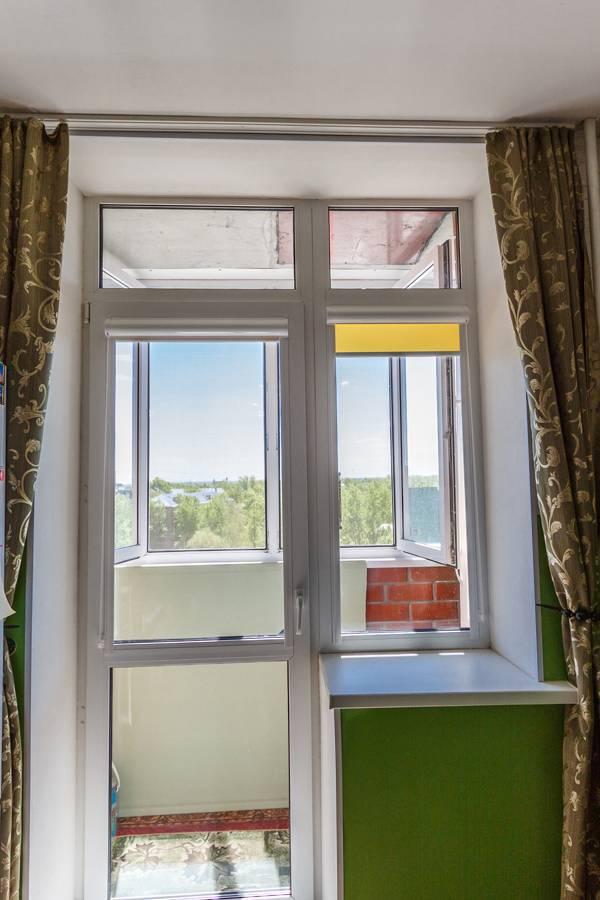 Рулонные шторы на окнах, рис.66