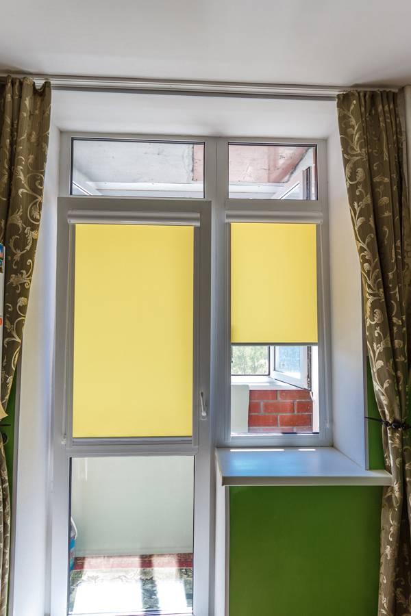 Рулонные шторы на окнах, рис.67
