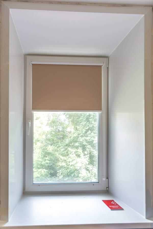 Рулонные шторы на окнах, рис.62