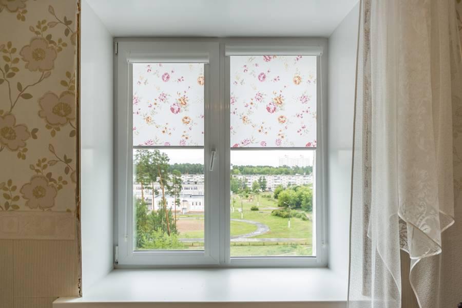Рулонные шторы на окнах, рис.53