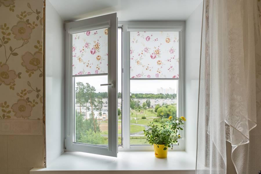 Рулонные шторы на окнах, рис.58