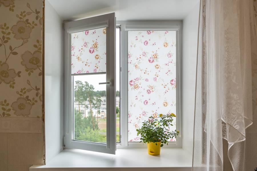 Рулонные шторы на окнах, рис.59