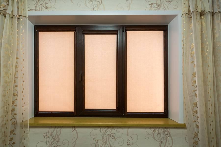 Рулонные шторы на окнах, рис.48