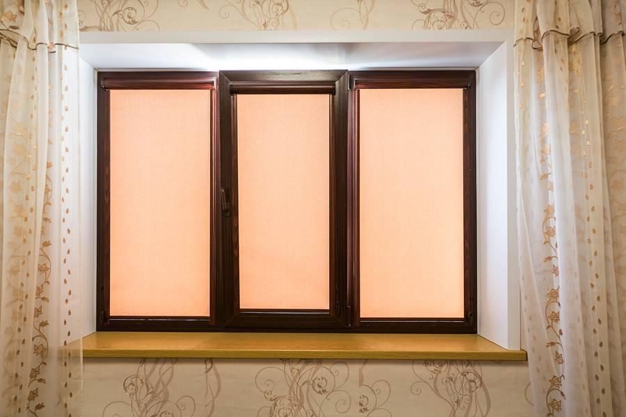 Рулонные шторы на окнах, рис.49