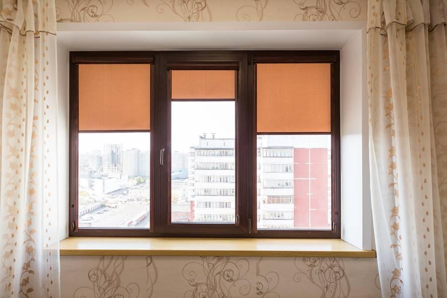 Рулонные шторы на окнах, рис.50